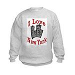 I Love New York Kids Sweatshirt