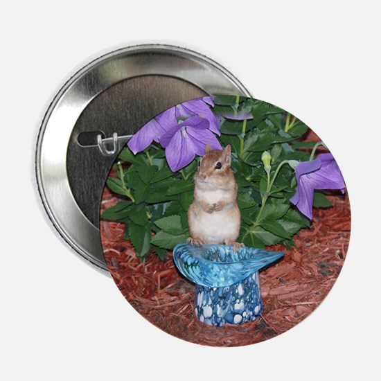 """Chester the chipmunk 2.25"""" Button"""