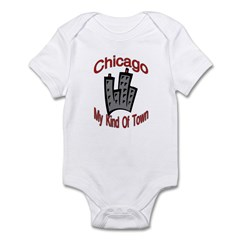 Chicago: My Kind Of Town Infant Creeper