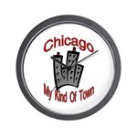Chicago: My Kind Of Town Wall Clock