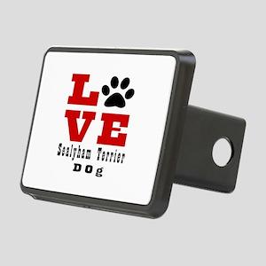 Love Sealyham Terrier Dog Rectangular Hitch Cover