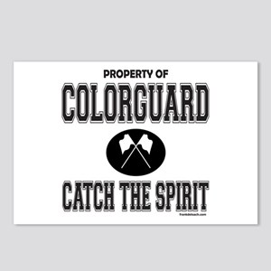 COLORGUARD SPIRIT Postcards (Package of 8)