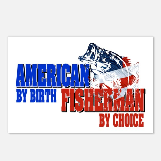 American by Birth - Fishe Postcards (Package of 8)
