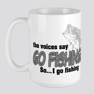 The Voices Say... Large Mug