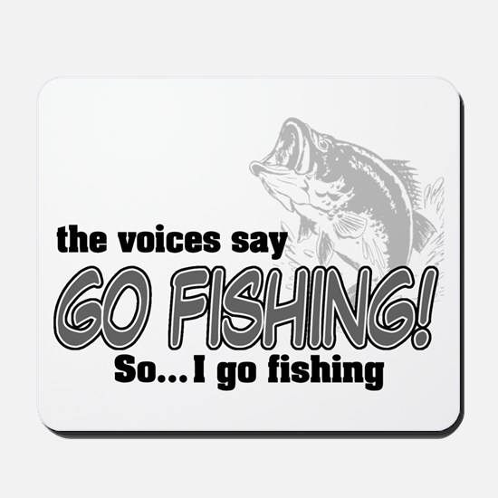 The Voices Say... Mousepad