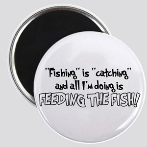 Feeding the Fish Magnet