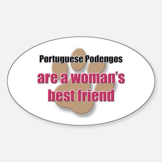 Portuguese Podengos woman's best friend Decal