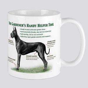 Gardener's Helper (Black) Mug