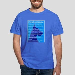 Checklist 1 (in blue) Great Dane Dark T-Shirt