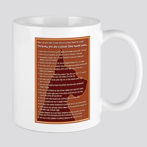 Checklist 2 (in brown) Mug
