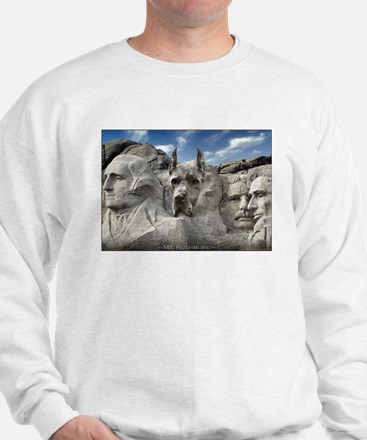 Mt. Rushmore Great Dane Sweatshirt