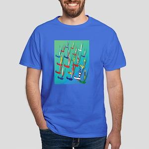 Sailing Regatta Dark T-Shirt