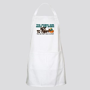 To Fish or Not To Fish??? BBQ Apron