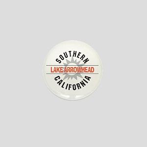 Lake Arrowhead California Mini Button