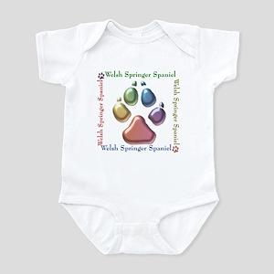 Welsh Springer Name2 Infant Bodysuit