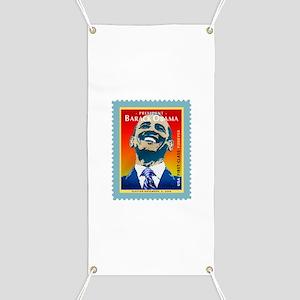 President Obama Stamp - Banner