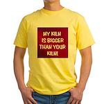 My Kiln Yellow T-Shirt