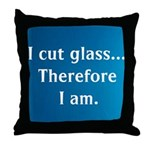 THEREFORE... Throw Pillow