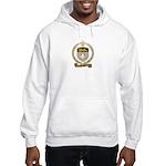 SAUCIER Family Crest Hooded Sweatshirt