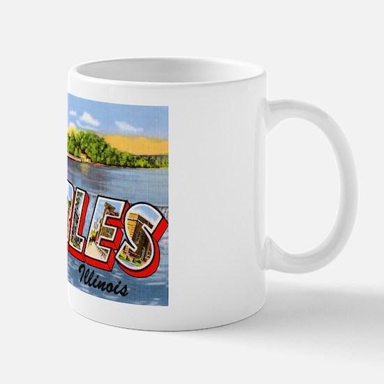 St. Charlies Illinois Greetings Mug