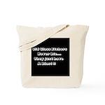 GLASS ETCHERS Tote Bag