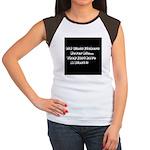 GLASS ETCHERS Women's Cap Sleeve T-Shirt