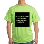 GLASS ETCHERS Green T-Shirt