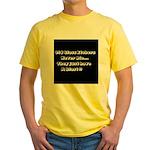 GLASS ETCHERS Yellow T-Shirt