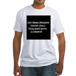 GLASS ETCHERS Fitted T-Shirt