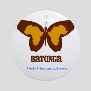 Girls Changing Africa Ornament (Round)