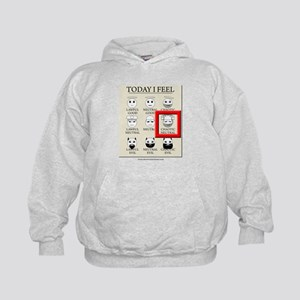 Today I Feel - Chaotic Neutral Kids Hoodie