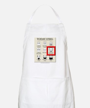 Today I Feel - Chaotic Neutral BBQ Apron