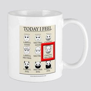 Today I Feel - Chaotic Neutral Mug