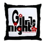 Girls Night Throw Pillow