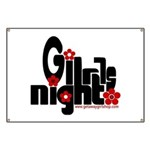 Girls Night Banner