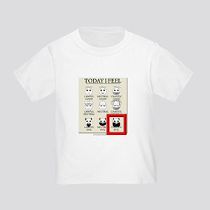 Today I Feel - Chaotic Evil Toddler T-Shirt