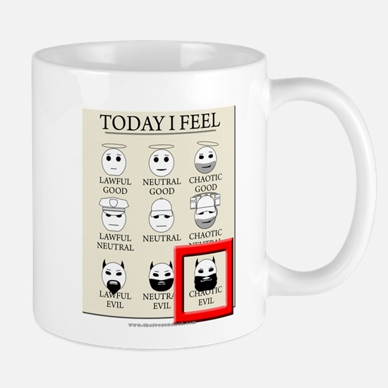 Today I Feel - Chaotic Evil Mug