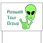 RoswellTourGroup Yard Sign