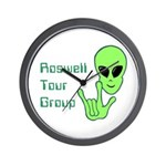 RoswellTourGroup Wall Clock