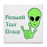 RoswellTourGroup Tile Coaster