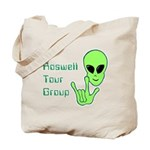 RoswellTourGroup Tote Bag