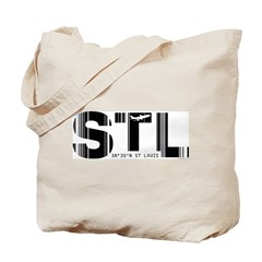 St. Louis Airport Code Missouri STL Tote Bag
