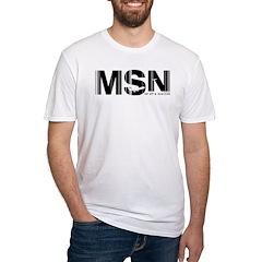 Madison Airport Code Wisconsin MSN Shirt