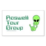 RoswellTourGroup Rectangle Sticker 10 pk)