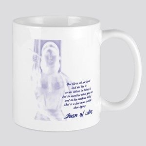 Joan of Arc - One Life Mug