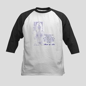Joan of Arc - One Life Kids Baseball Jersey