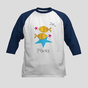 Pisces Kiddie Kids Baseball Jersey