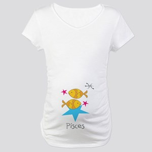 Pisces Kiddie Maternity T-Shirt