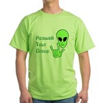 RoswellTourGroup Green T-Shirt