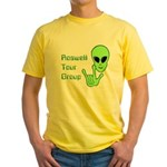 RoswellTourGroup Yellow T-Shirt